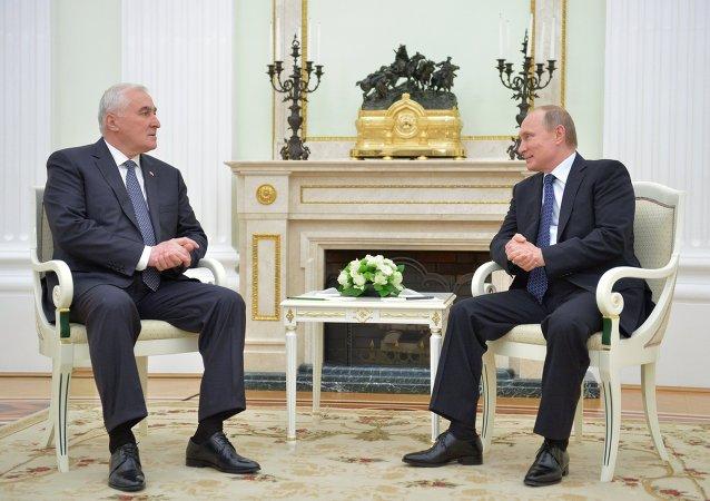 普京:俄罗斯与南奥塞梯合作和一体化协议已经开始落实