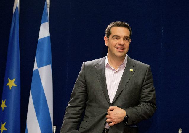 希腊总理阿列克西斯•齐普拉斯