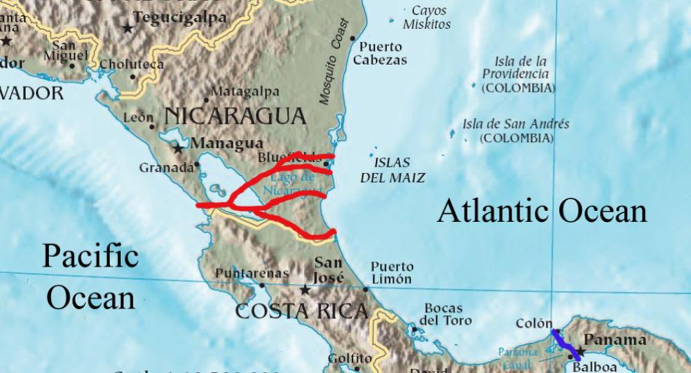 美国拉拢哥斯达黎加反对中国