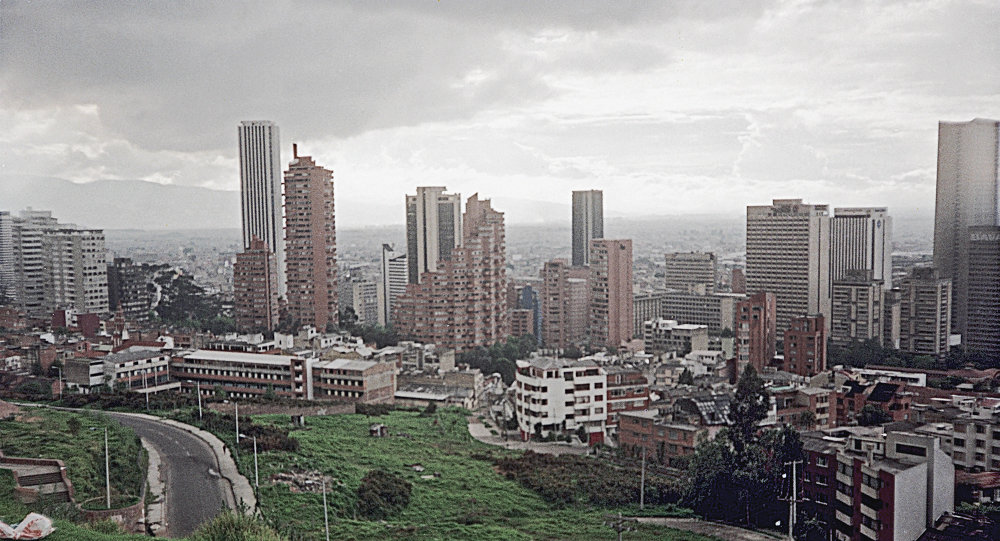 哥伦比亚首都波哥大