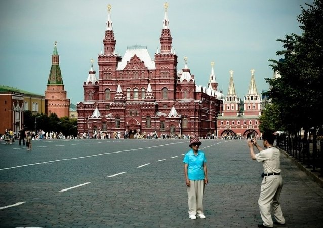 赴俄中国游客数量增长27%
