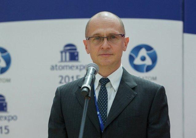 俄罗斯国家原子能公司总裁谢尔盖·基里延科