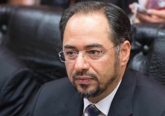 阿富汗外长萨拉赫丁∙拉巴尼