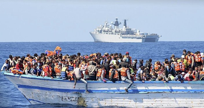 利比亚非法越境难民