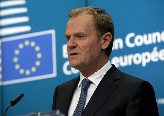 欧洲理事会主席:欧盟领导人决定延长经济制裁俄罗斯的有效期