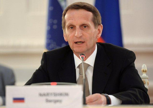 俄杜马主席:金砖国家议会论坛的成果可应用于乌法峰会