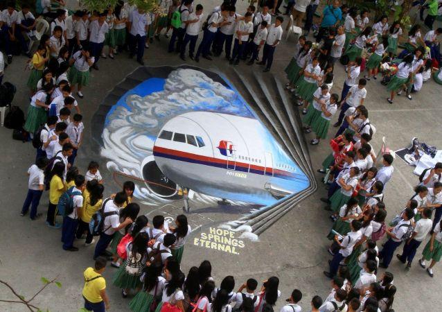研究人员:马航MH370垂直坠入海中并未留下残骸