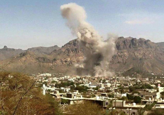 """美国白宫对也门平民遇难表示""""深切担忧"""""""