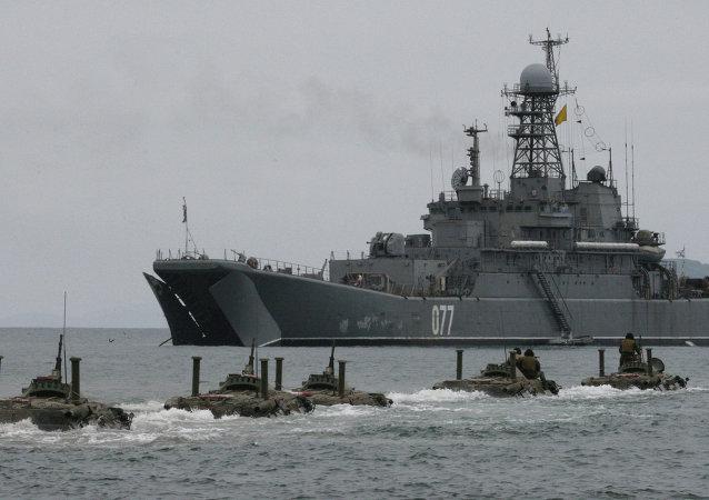 俄海军将于海军节期间在堪察加边疆区实战演习