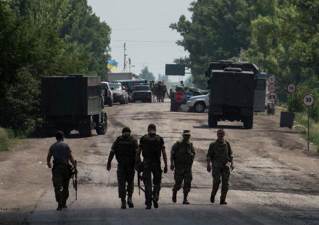 顿涅茨克人民共和国:乌强力部门在顿巴斯组建进攻队