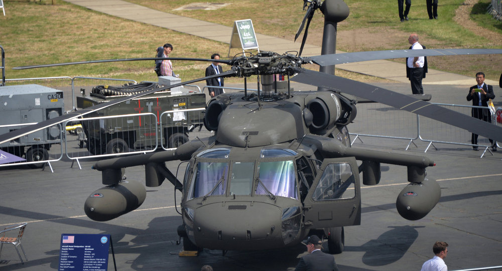 "UH-60""黑鹰""(UH-60 Black Hawk)直升机"
