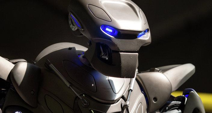 俄远东举行机器人锦标赛