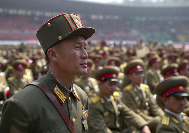 朝鲜军队/资料图片/