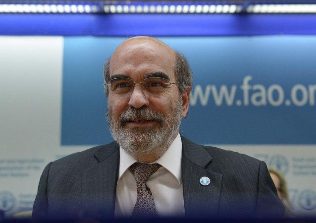 粮食及农业组织(FAO) 总干事何塞·格拉齐亚诺·达席尔瓦