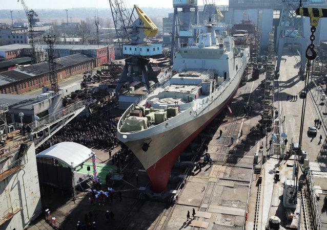"""""""格里戈罗维奇海军上将""""号护卫舰"""