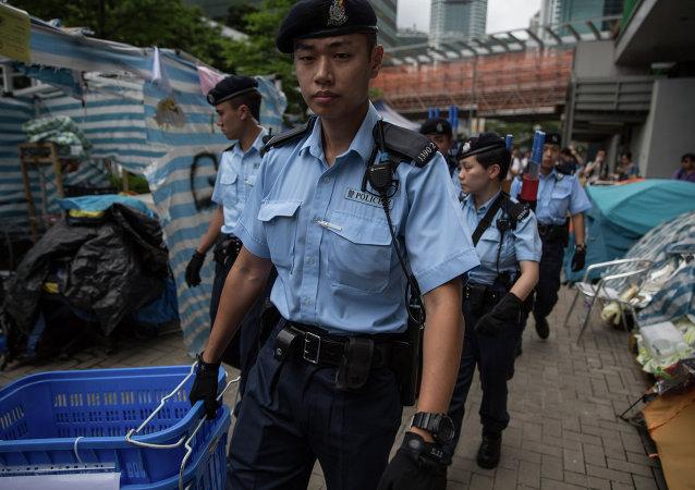 香港警方:7名男子涉嫌串谋行劫等被捕