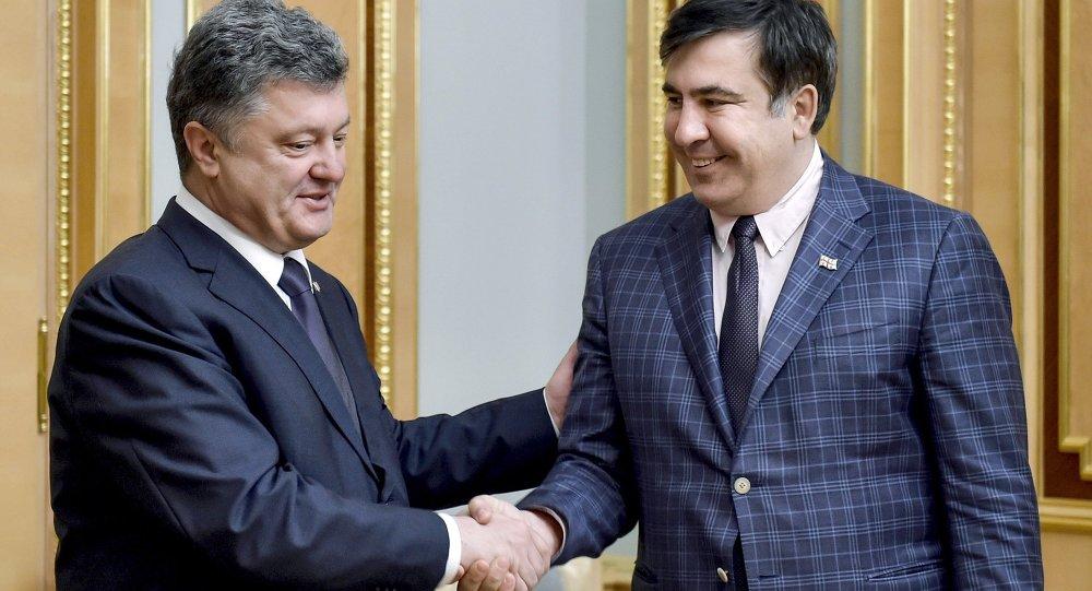 乌克兰前情报局工作人员:萨卡什维利将在敖德萨解决与德涅斯特河沿岸摩尔达维亚共和国间冲突