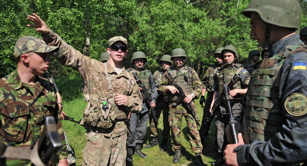 五角大楼:约350名美国军人将对六个乌克兰兵营进行训练