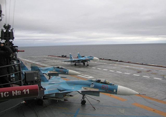 俄海军未来航母将可搭载90架飞机