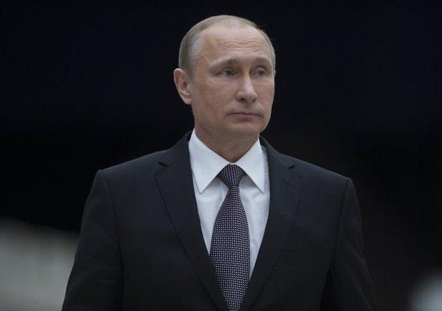 """民调:多半俄公民称普京为""""年度人物"""""""