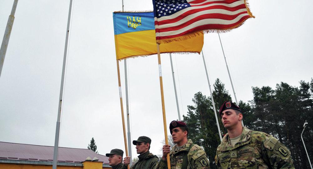 乌议会议长:乌克兰领土上或部署美军备用装备
