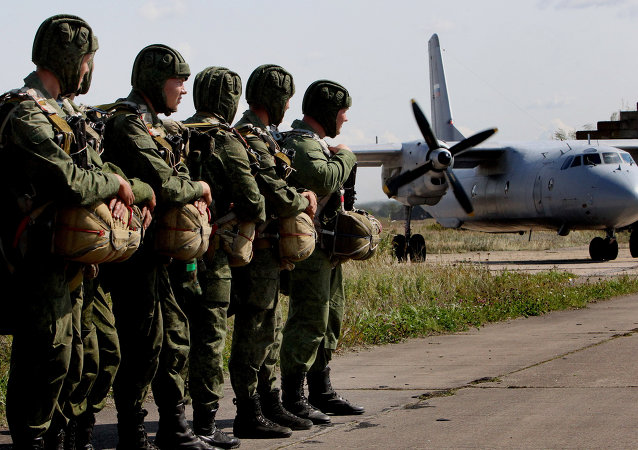 普京总统对空降部队战士和老兵致以建军85周年祝贺