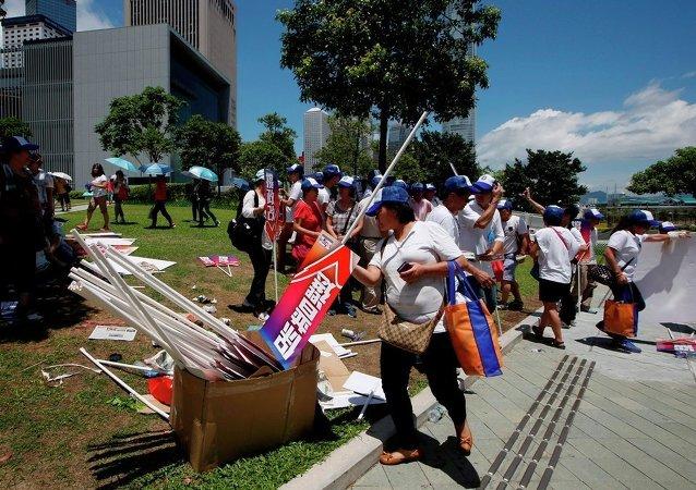 为应对香港街头垃圾而做的设计方案