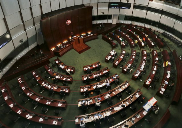 香港立法会恢复工作