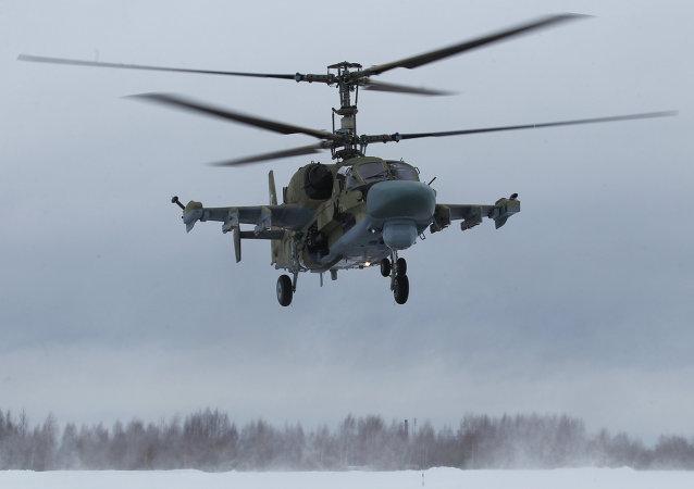 俄罗斯直升机公司:首批卡-52直升机将于2017年做好出口准备