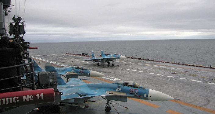「庫茲涅佐夫海軍上將」號航母將能在複雜氣象條件下遂行任務