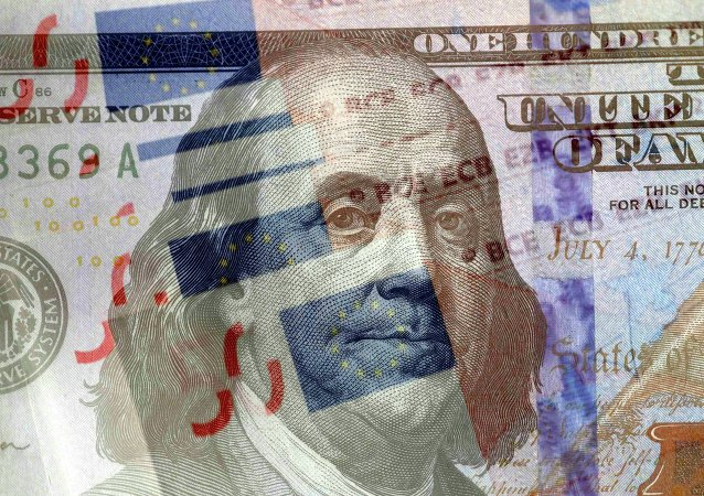 美元和欧元/资料图片/