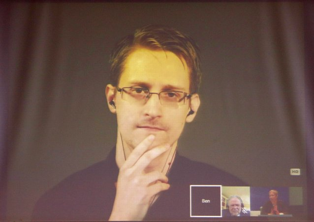 美国国家安全局(NSA)前特工爱德华·斯诺登