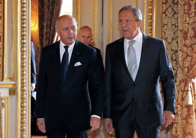俄外交部:俄法外长讨论中东局势与IS进攻叙利亚问题