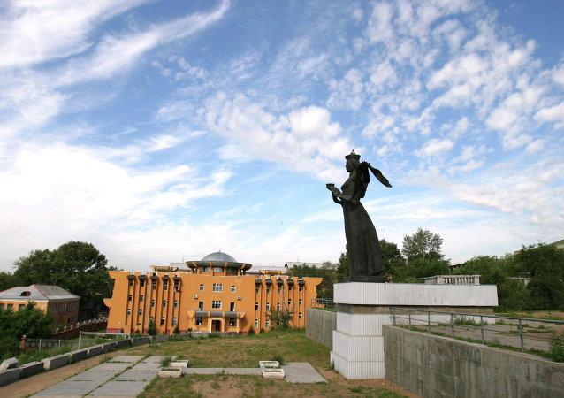俄罗斯布里亚特共和国首府乌兰乌德