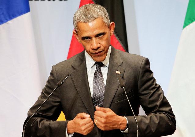 奥巴马否决2016年国防政策法案