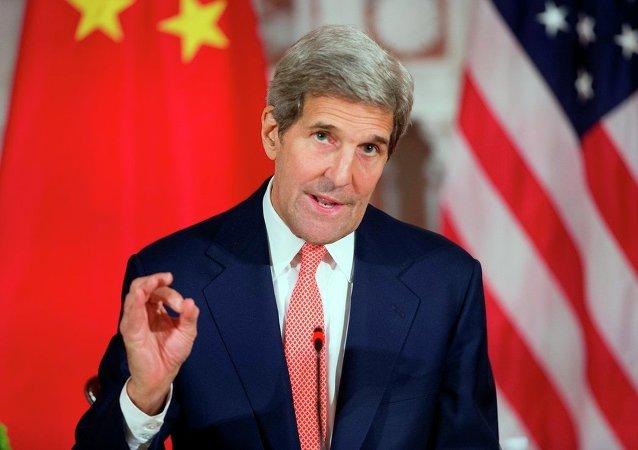 美国国务卿克里:中美对话非常有建设性