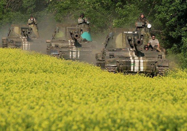 顿涅茨克:顿巴斯形势徘徊在战火重燃边缘