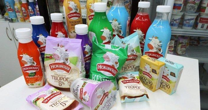 俄对华奶制品出口额2016年前10月间增2倍