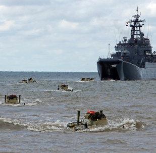 俄中軍演指揮官抵達波羅的海艦隊基地
