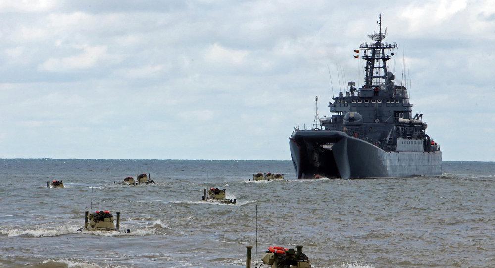 俄罗斯波罗的海舰队/资料图片