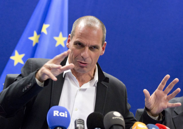 希腊财政部长瓦鲁法基斯