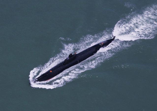 媒体:美国担忧中国将在潜水艇数量上占优势