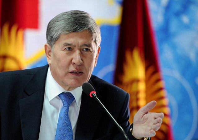 吉尔吉斯斯坦总统阿塔姆巴耶夫