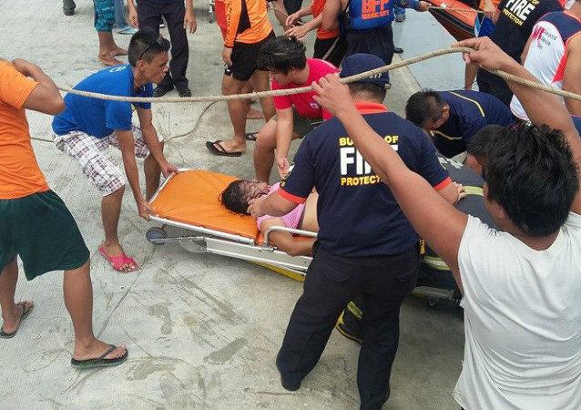 普京向菲律宾总统就沉船事故致慰问电
