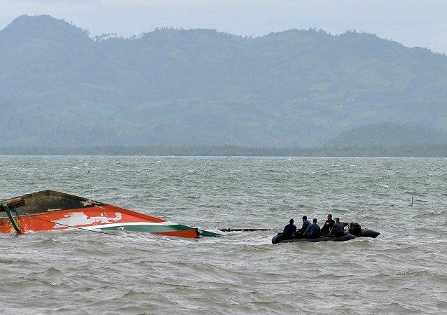 菲律宾沉船事故已经造成59人遇难