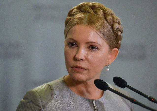 乌克兰前部长:季莫申科欺骗国际货币基金组织