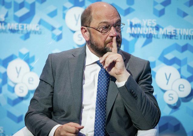 欧洲议会议长马丁·舒尔茨