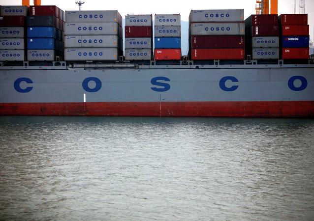 中远集团在阿联酋投资建造集装箱码头