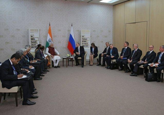 普京:上合组织开启接纳印度为正式成员的进程