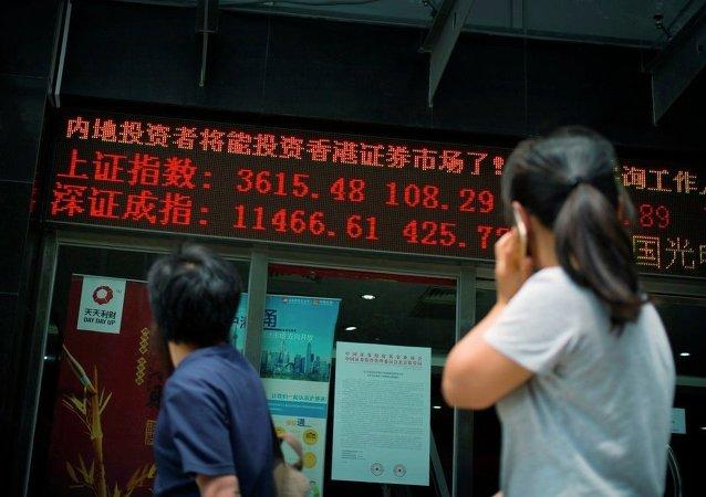 中國股市為何震蕩